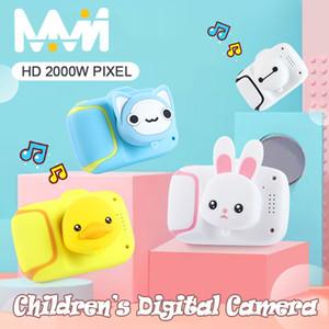 الكرتون الكاميرا الرقمية الاطفال لعب الأطفال التعليمية لعبة التصوير تدريب اكسسوارات هدية عيد كاميرا لعب للبنات