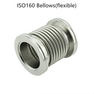 ISO160 Fast Quick Flexible Vacuum Bellows Flange Connection Flexible Hose Pipe Bellows Joint