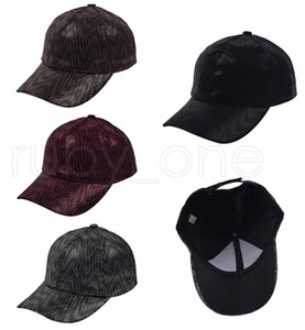 Stripe Baseball Caps Washed Trucker Hats Cap Outdoor Sport Visor Snapbacks Caps Hat Party Hats 4styles RRA4182