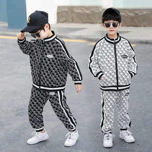 Designers Clothes Kids 2021 Baby Boy Clothes Boy Clothes Suit Designers Tracksuits Printed Clothing Set Children Long Sleeve