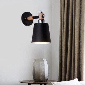 E27 Home Decoration Lamp Cover Shades LED Light Simple Living Room Bedroom Bedside Lamp Balcony Aisle Stair Wall Cover