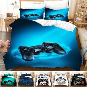 Bedding Sets Fashion HD Digital Print Game Handle Duvet Cover+ Pillowcase 2 3pcs Customized Bed Set US AU EU Size