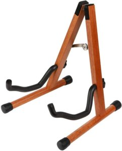 Guitar stand, mahogany instrument stand, guitar accessories ,A stand, suitable for acoustic guitar, electric guitar, electric bass, banjo