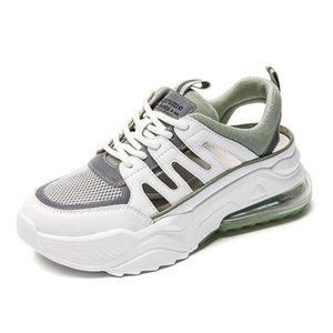 Sandales Été 2021 Cuir de la vieilles chaussures de sport creux occasionnels