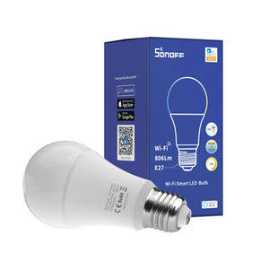 SONOFF B02-B A60 WiFi Smart LED Bulb Light Support voice to turn on off, adjust the brightness and color temperature