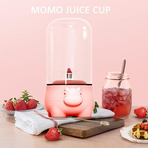 The Cow Juicer Home Portable Mini Fruit Juice Machine Small Juice Cup Multi-functional Automatic Cooking Machine 350ml Household One Gear