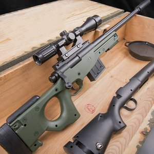 AWM M24 Manual Firing Toy Gun Blaster Airsoft Blaster Shotgun Paintball Water Bomb Pistol Silah Armas For Adults Boys Birthday Gifts