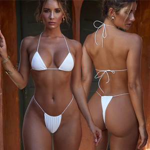 Autuspin Brazilian Women Bikinis Set Micro Bathing Suit Fashion Women's Swimsuit Beach Swimwear Low Waist Thong Sexy Lady Bikini L0222