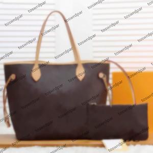 Louis Vuitton Mittelgroße Tasche mit Geldbörse neuen Art und Weise Frauen beiläufige Handtaschen Dame berühmte Designertasche PU-Leder Reisetaschen weiblicher Geldbeutel 2pcs / set