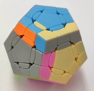 Holy hand crazy monster, -featured cube, non stick, dodecahedron, magic puzzle, educational toyJ5I3