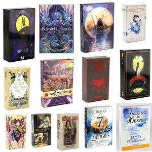 Tarot linarker Träume Spielzeuggöttliche Sterne Spinner Muse Hoodoo Occultarot del Fuego Karten Tarot Deck Oracles E-GuideBook Spiel Geschenk