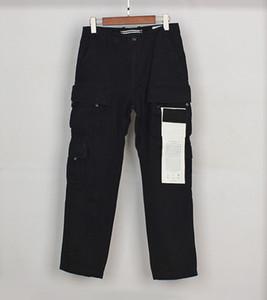 TopStonee компас боковые этикетки брюки 21ss четыре мешки стиральные функции повседневные комбинезоны роскошные дизайнеры пластыря случайные уличные штаны 1