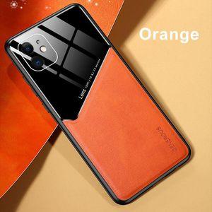 Funda telefónica para iPhone 12 11 Mini Pro MAX XS XR 6 7 8 Plus SE 2 Funda de imán de cuero para Galaxy S20 Plus FE S10 PLUS CASOS DE PROTECTORES MQ50