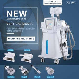 Beauty products Fat Freeze Cryolipolysis Slimming machine 4 handles Cryo therapy Cryolipolisis