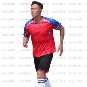 081Children's Football Football Training Suit Boys 'Quick Sticking Sports Suit Summer Manica Corta Studente Student Football Genit Bambino vestito