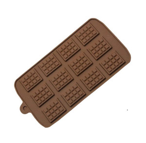 Dining Silicone Mold Chocolate Mold Fondant Molds DIY Candy Bar Mould Cake Decoration Tools Kitchen Baking Accessories OWB5112