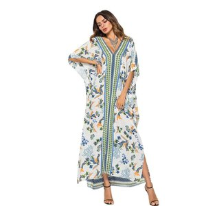African Dresses for Women Dashiki African Clothes Gown Bazin Riche Sexy Robe Boubou Africaine Long Africa Dress Print Clothing