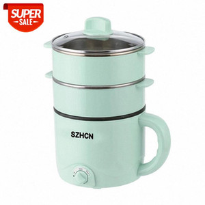 220V Mini Multifunction Electric Cooking Machine Household Single Double Layer Hot Pot Multi Electric Rice Cooker Non-stick Pan #IE2Y