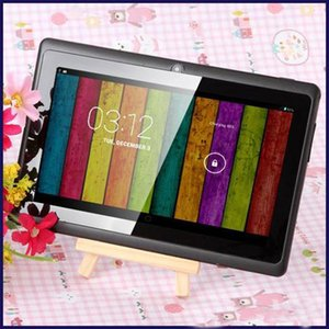 7 inch A33 Quad Core Tablet PC Q8 Allwinner Android 4.4 KitKat Capacitive 1.5GHz 512MB RAM 8GB ROM WIFI Dual Camera Flashlight Q88 A23