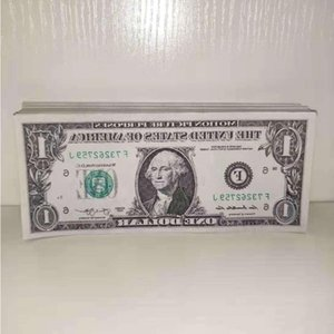 Movie Prop Fake Money Pretend Dollar Copy Collections Tool Learning Kids Toys Banknote Paper Gifts Dvaxo