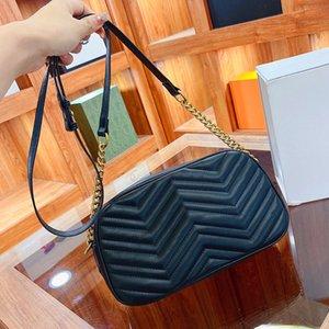 Top quality wave pattern ladies evening crossbody bag designer 25cm PU leather zipper handbag 2021 fashion women shoulder bags luxury purse original box