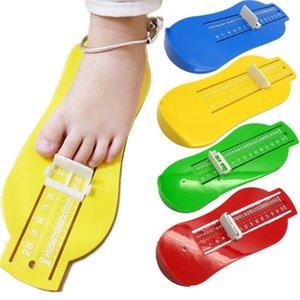 Младенческая пластиковая пластиковая линейка регулируемая мера CM CHN Baby Shister Sizer измерения инструментами устройства для малыша