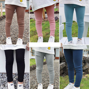 Girls Leggings Kids Tights Cotton Long Skinny Pants Spring Autumn Children Trousers Girls Clothes Kids Clothing 2-7Y B4160