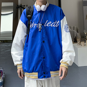 Baseball fashion brand spring and autumn coach flying American loose embroidered men's Jacket