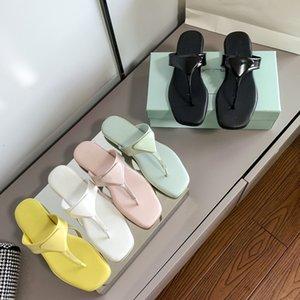 2021 слайд женские тапочки летние флип флопы кожаные PU резиновые сандалии пляжная обувь теплоходных покрытий 35-40