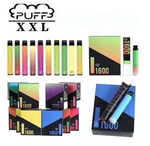 퍼프 XXL 전자 제품 전자 담배 MK 일회용 전자 담배 장치 1600+ 퍼프 18 색 퍼프 바 플러스 Xtra 전자 담배 vape 펜