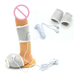Accessoire de pénis Électro Stimulation Électrique Shock Cock Bague Traitement médical Massager Jouets sexuels pour adultes pour hommes