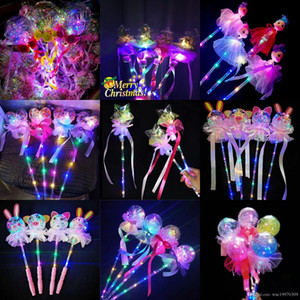 New LED flash ball magic wand glow stick star ball little fairy must-have Christmas decoration children's toys birthday party wedding s