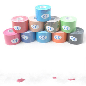 4 Roll 5cm X 5m Sports Kinesiology Tape Roll Cotton Elastic Adhesive Muscle Bandage Strain Support Football 101 X2