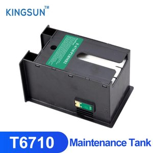 Ink Cartridges T6710 With Chip Maintenance Tank For WP-4540 4545DTWF 4590 4592 4595DNF WF-R5690 Printer