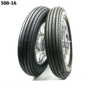 GN125 500-16 Tubo do pneu do pneu traseiro traseiro de 16 polegadas jantes de roda de motocicleta com roda dentada de freio disco do rotor do disco
