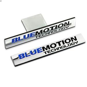 1 PCS Bluemotion Technology Car Front Grille Emblem Badge Sticker For Volkswagen Golf 6 7 Polo Passat B5 Sagitar Tiguan Magotan