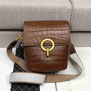 Hanghangbag Allbuse дизайнерский дизайнер мода ручная сумка сумки рюкзак бумажник кошелька плеча крокодиловая сумка мини-сумка крокодил корейский
