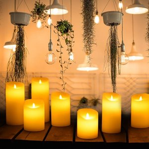 Candles Birthday Christmas Cute Candle Electric Luxury Yellow Wedding Designer Nordic Lume Di Candela Home Decoration 50
