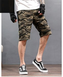 Cargo Shorts Fashion Five Point Loose Casual Homme Pants Plus Size Pants Mens Designer Camouflage