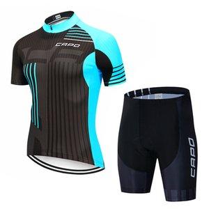 2021 Nouveau Capo Pro Cycling Jerseys Set Cyclisme d'été Porter Vêtements de Vélo Vêtements Vélo Vêtements Vêtements Vélos VTT Vêtements Vêtements Vêtements Vêtements Cyclisme