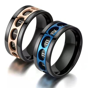 Stainless Steel Men Rings High Quality Punk Women Jewelry for Party Best Friend Gifts Mens Wed Ring