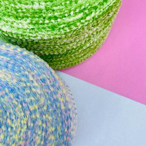 Yarn 250g Crochet Colorful Flag The Characteristic Line Fashion Hand Knitting Segment Dyed Fringe Novelty Thread