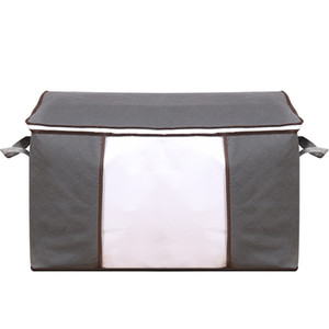 Clothing & Wardrobe Storage quilt storages bags moving packing clothes finishing bag clothing duffel bags non-woven quilt storage