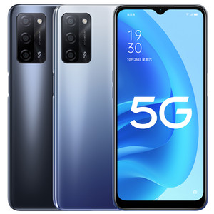 Original Oppo A55 5G Mobile Phone 6GB RAM 128GB ROM MTK 700 Octa Core Android 6.5 inch Full Screen 13MP AI 5000mAh Face ID Smart Cell Phone