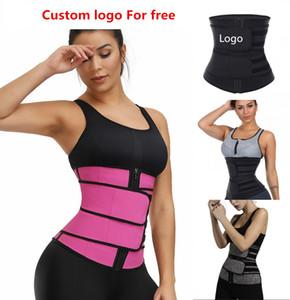 ABD Stok, Erkek Kadın Şekillendirme Bel Eğitmen Kemer Korse Göbek Zayıflama Shapewear Ayarlanabilir Bel Desteği Vücut Şekillendirme FY8084