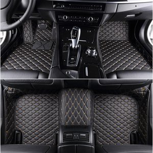 Custom 5 Seat car floor mats for vw PASSAT b5 b6 b7 b8 New Beetle Multivan car mats auto accessories