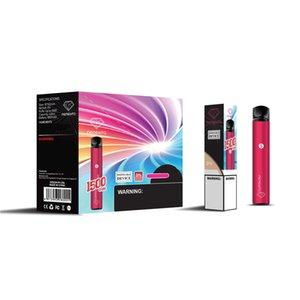 Оригинальные Memento K18 одноразовые устройства POD 1500Позки Vape Pen 850mah E-Cigarettes Kit 4.8ML Kit DHL бесплатно