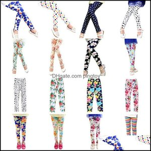 Tights Pants Clothing Baby, & Maternityspring Baby Kids Girls Butterfly Flower Print Leggings Drop Delivery 2021 Xxt8M