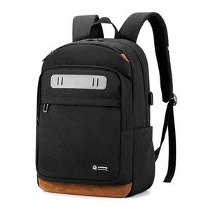 Повседневный бизнес мужской ноутбук рюкзак 2021 Новый Оксфорд Ткань Водонепроницаемый Молодежная Студенческая Школьная сумка Мужской Ежедневный Рабочий Рюкзак Женщины