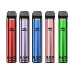 wholesale 4000puffs Glamee Nova Electronic Cigarettes 2200mAh Battery Prefilled 16ml Pods high quality